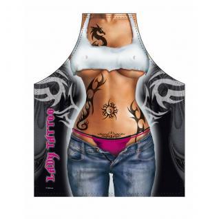 Grillschürzen - Lady Tattoo - Vorschau 1