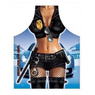 Grillschürzen - Police Girl - Vorschau 1