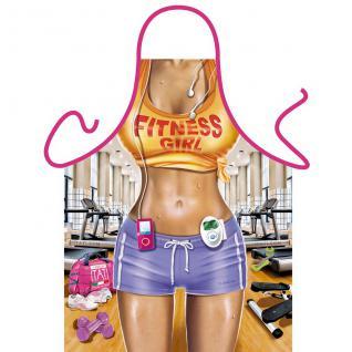 Grillschürzen - Fitness Girl - Vorschau 1