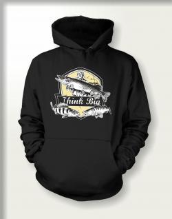 Angler Sweatshirt mit Kapuze - Think Big