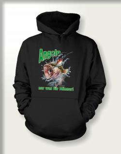 Angler Sweatshirt mit Kapuze - Angeln für Männer