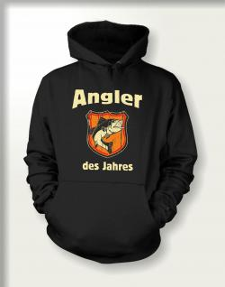 Angler Sweatshirt mit Kapuze - Angler des Jahres