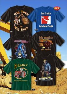 Fun Collection T-Shirt Beruf Handwerk Heimwerker Shirt Geschenk Auswahl bedruckt