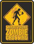 Fun Schild - Smartphone Zombie Blechschild