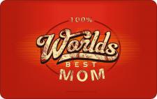 Geburtstag Frühstücksbrett - 100 % Worlds Best Mom