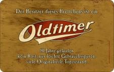 Geburtstag Frühstücksbrett - Oldtimer 50 Jahre
