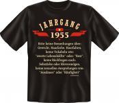 Geburtstag T-Shirt - Jahrgang 1955 Geschenk