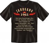 Geburtstag T-Shirt - Jahrgang 1965 Geschenk
