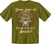 Jäger T-Shirt - 50 Jahre Ansitz Jagd