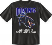 Taucher T-Shirt - Diving deep and long