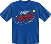 Geburtstag T-Shirt - Happy Birthday