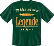 Geburtstag T-Shirt - 30 Jahre lebende Legende