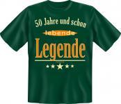 Geburtstag T-Shirt - 50 Jahre lebende Legende