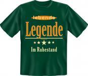 Geburtstag T-Shirt - Lebende Legende im Ruhestand
