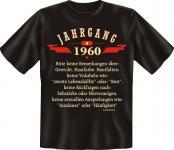 Geburtstag T-Shirt - Jahrgang 1960