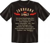 Geburtstag T-Shirt - Jahrgang 1967