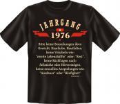 Geburtstag T-Shirt - Jahrgang 1976