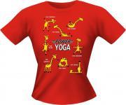 Lady Shirt - Power Yoga Giraffe