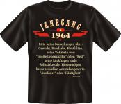 Geburtstag T-Shirt - Jahrgang 1964