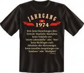 Geburtstag T-Shirt - Jahrgang 1974
