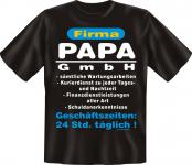 Vatertag Geburtstag T-Shirt - Papa GmbH