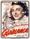 Filmklassiker Blechschild - Casablanca