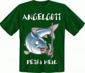 Angler T-Shirt - Angelgott Angel Gott