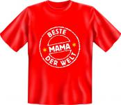 Muttertag T-Shirt - Beste Mama der Welt