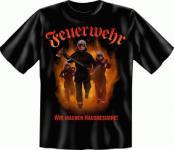 T Shirt - Feuerwehr Hausbesuche