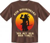T-Shirt - Indianername Bier