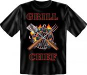 Fun T-Shirt - Grill Chef Grillchef