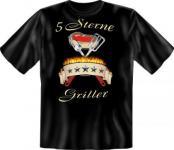 Grill T-Shirt - 5 Sterne Griller