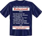 T-Shirt - Langsam im Ruhestand