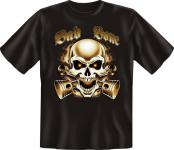 Biker T-Shirt - Bad Bone