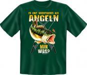 Angler T-Shirt - Wichtigeres als Angeln Angel Shirt