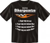 Biker T-Shirt - Bikergesetze