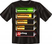 T-Shirt - Batterie Füllstand