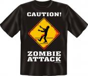 T-Shirt - Halloween Zombie Attack