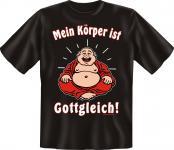 T-Shirt - Mein Körper ist gottgleich