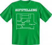 T-Shirt - Aufstellung Fussball Couch