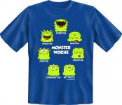 Fun T-Shirt - Monster Woche