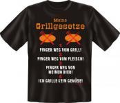 Grill T-Shirt - Meine Grillgesetze