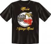 Grill T-Shirt - Mein 7-Gänge-Menü