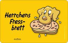 Brettchen - Herrchens Fressbrett