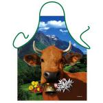 Grillschürzen - Braune Kuh