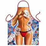 Grillschürzen - Strip Poker Girl