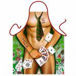 Grillschürzen - Strip Poker Man
