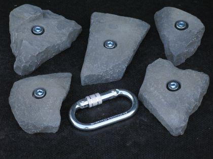 Klettergriffe Größe L Set Birrkar 5-teilig - Vorschau 2