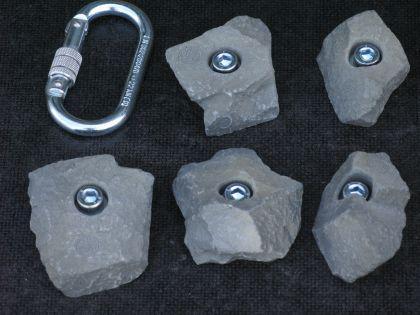 Klettergriffe Größe S Set Schran 5-teilig - Vorschau 2