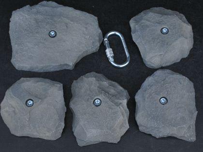 Klettergriffe Größe XXL Set Salve 5-teilig - Vorschau 2